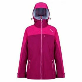 Regatta  Oklahoma IV Reflective Waterproof Jacket Pink  women's Sweatshirt in Pink