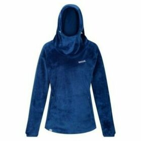 Regatta  Halia Velour Hoodie Blue  women's Sweatshirt in Blue