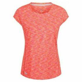 Regatta  Hyperdimension Quick Dry T-Shirt Orange  women's T shirt in Orange