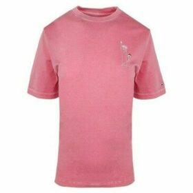 Tommy Hilfiger  DW0DW07154XAV  women's T shirt in Pink
