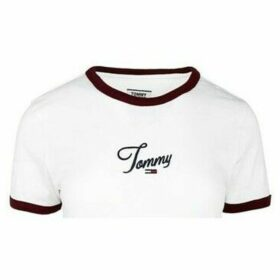 Tommy Hilfiger  DW0DW07430YA2  women's T shirt in White