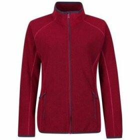 Professional  Dreamste Full Zip Mini Honeycomb Fleece Pink  women's Fleece jacket in Pink