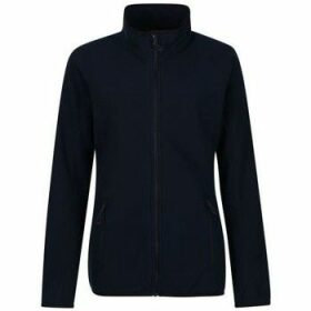 Professional  Dreamste Full Zip Mini Honeycomb Fleece Blue  women's Fleece jacket in Blue