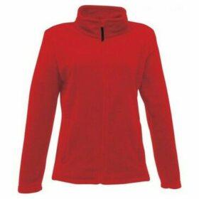 Professional  Micro Full Zip Fleece Red  women's Fleece jacket in Red