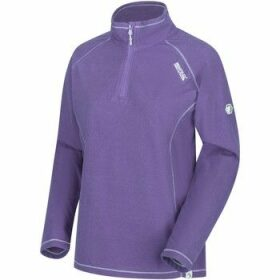 Regatta  Montes Lightweight Half-Zip Fleece Purple  women's Fleece jacket in Purple