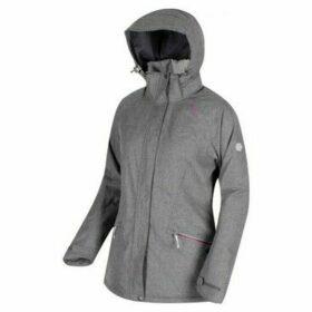 Regatta  Highside III Waterproof Insulated Jacket Grey  women's Fleece jacket in Grey