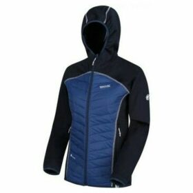 Regatta  Andreson IV Lightweight Hooded Hybrid Jacket Blue  women's Jacket in Blue