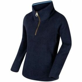 Regatta  Solenne Half Zip Stripe Fleece Blue  women's Fleece jacket in Blue