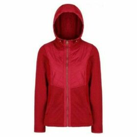 Regatta  Zarela Knit Effect Fleece Red  women's Fleece jacket in Red