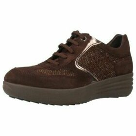 Stonefly  ROMY 3  women's Shoes (Trainers) in Brown