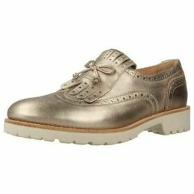 Nero Giardini  P805030D  women's Loafers / Casual Shoes in Gold