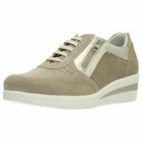 Nero Giardini  P907501D  women's Shoes (Trainers) in Brown