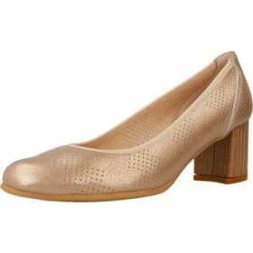 Mikaela  17029  women's Court Shoes in Gold