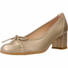 Mikaela  17024  women's Court Shoes in Gold