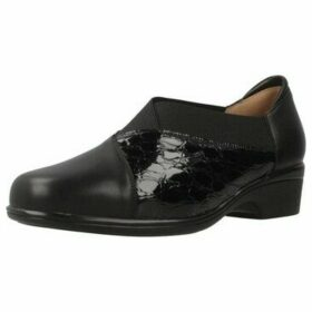 Piesanto  185608  women's Loafers / Casual Shoes in Black