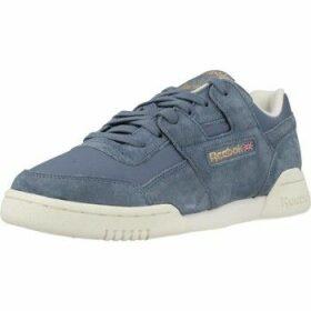 Reebok Sport  WORKOUT LO PLUS  women's Shoes (Trainers) in Blue