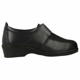 Pinoso's  7693 XXL  women's Loafers / Casual Shoes in Black