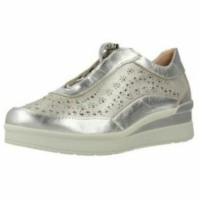 Stonefly  CREAM 15  women's Shoes (Trainers) in Silver