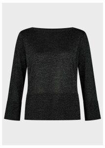 Logan Sparkle Sweater Black Silver