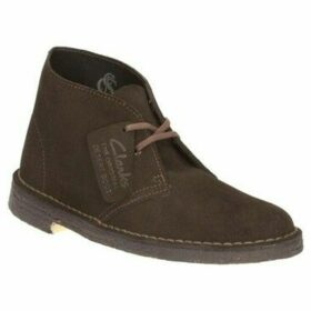 Clarks  Womens Desert Boots  women's Mid Boots in Brown