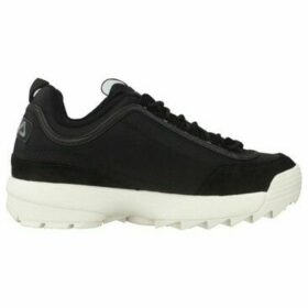 Fila  SATIN LOW  women's Shoes (Trainers) in Black