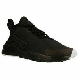 Nike  AIR HUARACHE RUN ULTRA PRM  women's Shoes (Trainers) in Black
