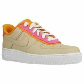Nike  WMNS AIR FORCE 1  women's Shoes (Trainers) in Brown