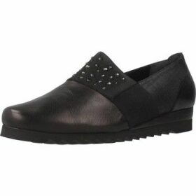 Platino  2163995  women's Loafers / Casual Shoes in Black