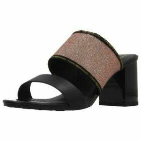 Tommy Hilfiger  TOMMY GLITTER MULE SANDA  women's Sandals in Black