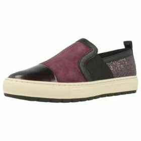 Geox  D BREEDA A  women's Slip-ons (Shoes) in Purple