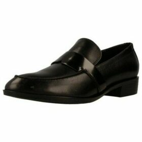 Geox  D LOVER  women's Loafers / Casual Shoes in Black