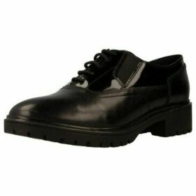 Geox  D PEACEFUL  women's Smart / Formal Shoes in Black