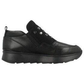 Geox  D GENDRY A  women's Slip-ons (Shoes) in Black