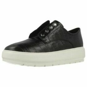 Geox  D KAULA C  women's Shoes (Trainers) in Black