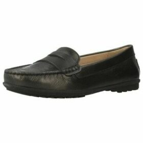 Geox  D ELIDIA  women's Loafers / Casual Shoes in Grey