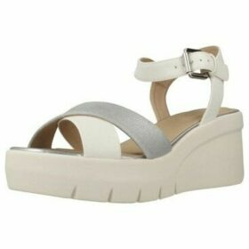 Geox  D TORRENCE  women's Sandals in White
