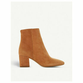 Omarii suede heeled ankle boots