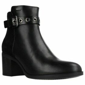 Geox  D GLYNNA NP ABX  women's Low Ankle Boots in Black