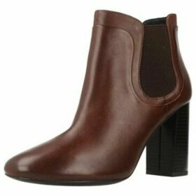 Geox  D AUDALIES HIGH  women's Low Ankle Boots in Brown