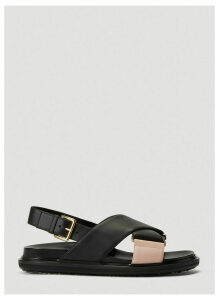 Marni Fussbett Sandals in Black size EU - 40