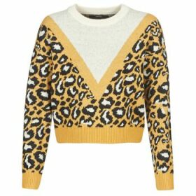 Vero Moda  VMLEON  women's Sweater in Yellow