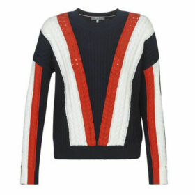 Tommy Hilfiger  HILDY C-NK SWTR  women's Sweater in Blue