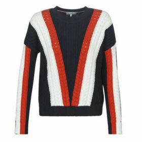 Tommy Hilfiger  HILDY C-NK SWTR  women's Sweater in Blue