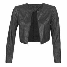 Only  ONLFAWN  women's Leather jacket in Black