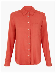 M&S Collection Cosy Relaxed Fit Shirt