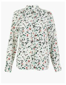 M&S Collection Animal Print Shirt