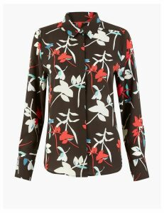 M&S Collection Woven Floral Blouse
