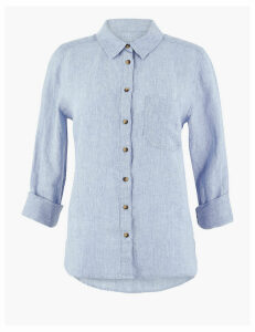 M&S Collection Pure Linen Shirt