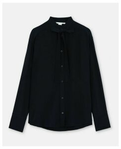 Stella McCartney Blue Morgan Shirt, Women's, Size 16