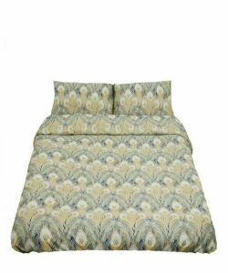 Hera Cotton Sateen Double Duvet Cover Set